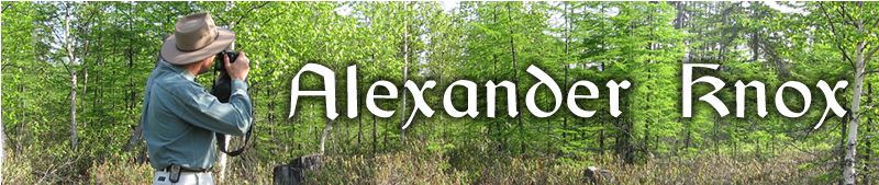 Alexander in South East Siberian forest.