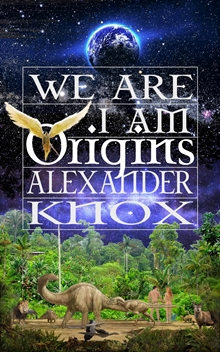 Image of book cover for We Are I Am - Origins and link to website www.we-are-i-am.com